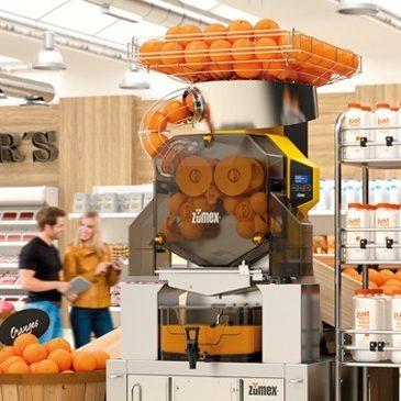Zumex crece en el retail italiano