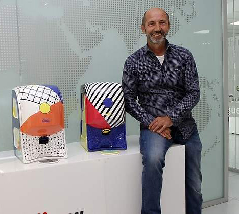 Víctor Bertolín, fundador y director general de Zumex